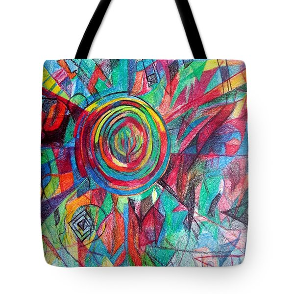 Guardian Of The Faith Tote Bag by David Baruch Wolk