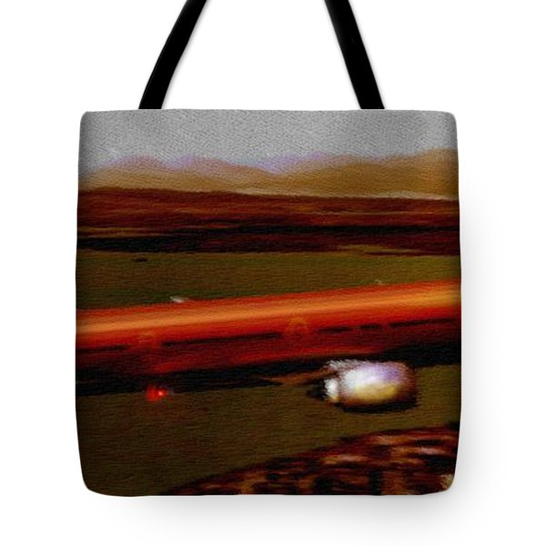 Guardian Over Seattle Tote Bag by Marcello Cicchini
