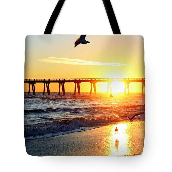 Guardians Of The Gulf Tote Bag