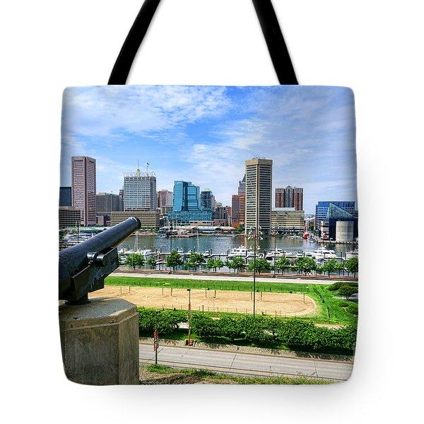Guarding Baltimore Tote Bag