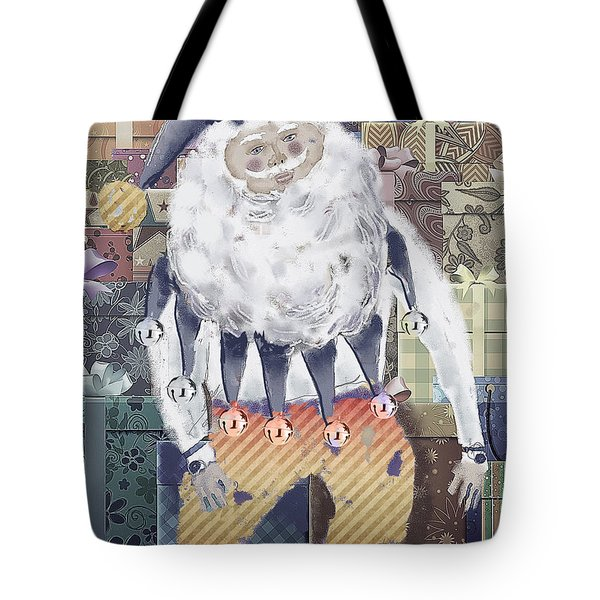 Tote Bag featuring the digital art Guarding The Gifts by Arline Wagner