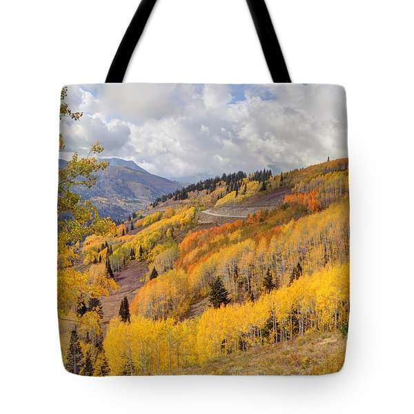 Guardsman Pass Aspen - Big Cottonwood Canyon - Utah Tote Bag