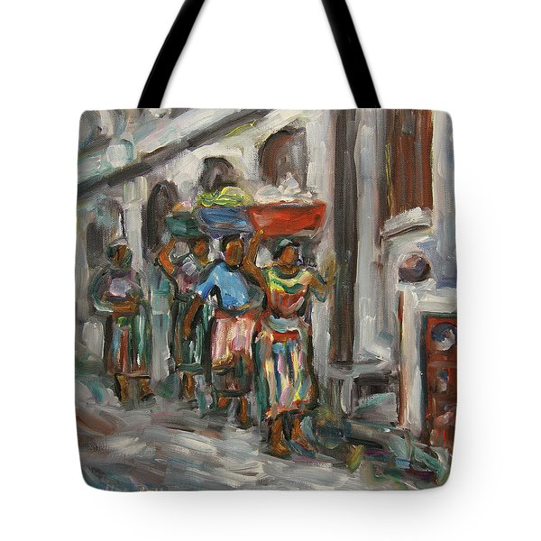 Guatemala Impression V - Left Hand 1 Tote Bag by Xueling Zou