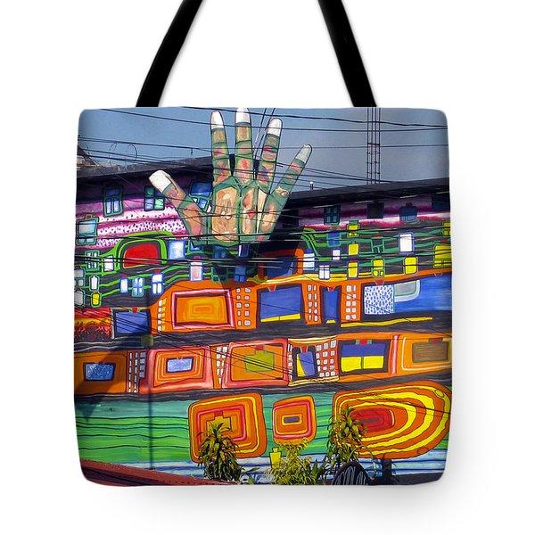 Guatemala Street Art 1 Tote Bag by Kurt Van Wagner