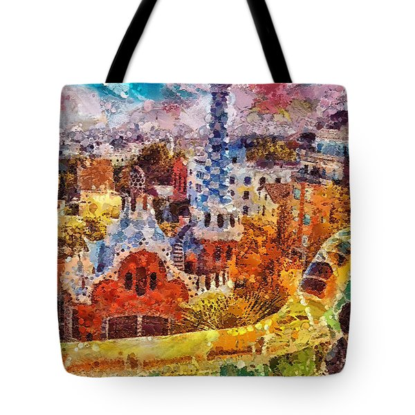 Guell Park Tote Bag