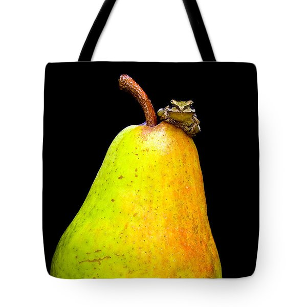 Guest A-pear-ance Tote Bag by Jean Noren