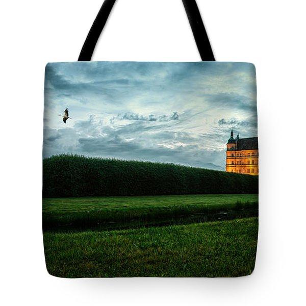 Guestrow Panorama Tote Bag