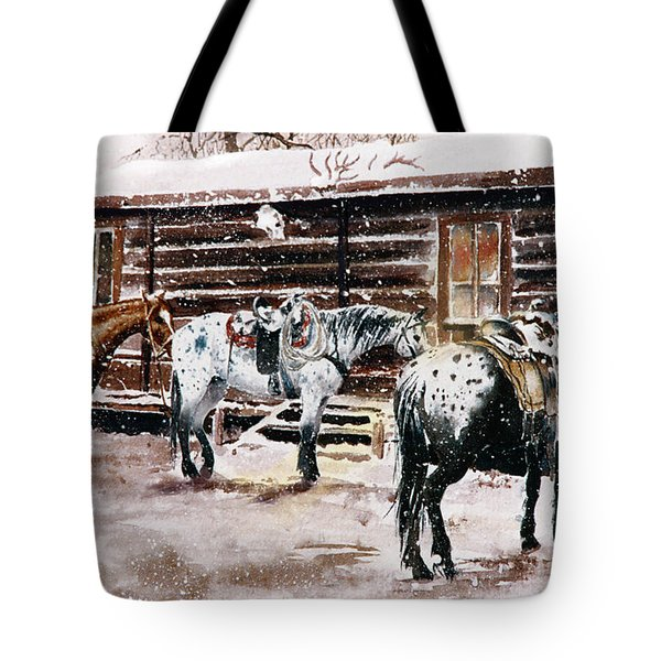 Guests For Dinner Tote Bag