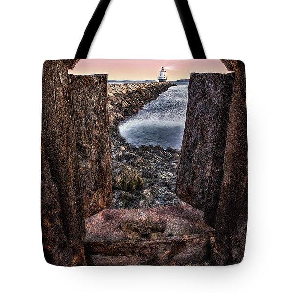 Guiding Light Tote Bag by Susan Candelario
