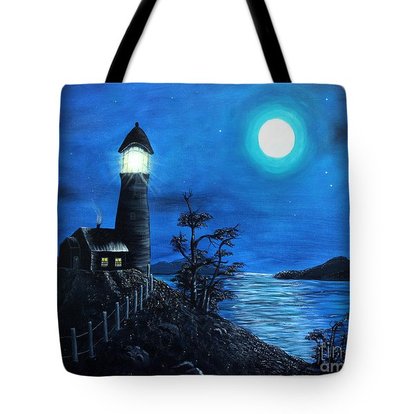 Guiding Lights Tote Bag by Barbara Griffin