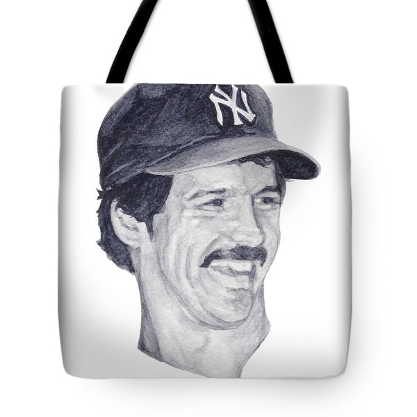 Tote Bag featuring the painting Guidry by Tamir Barkan