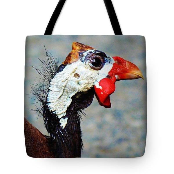 Guinea Hen Tote Bag