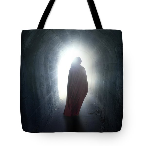 Guise In Tunnel Tote Bag by Joana Kruse