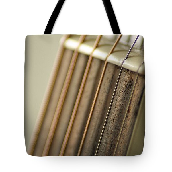 Guitar Tote Bag by Daniel Precht