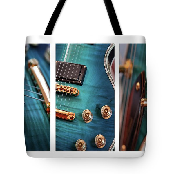 Tote Bag featuring the photograph Guitar Life by Joy Watson