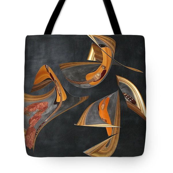 Guitar Music Tote Bag