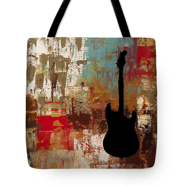 Guitar Solo Tote Bag