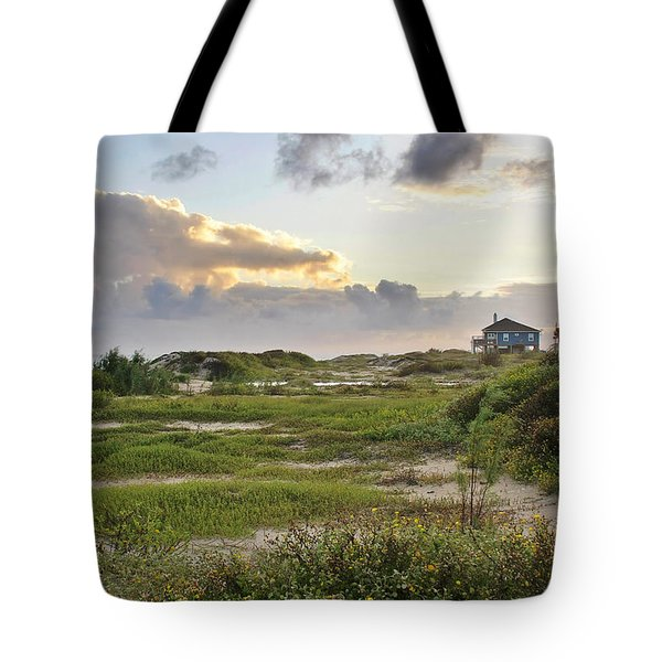 Gulf Coast Galveston Tx Tote Bag