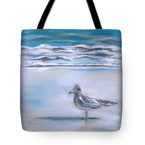 Gull On The Shore Tote Bag by MM Anderson