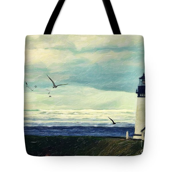 Gulls Way Tote Bag by Lianne Schneider