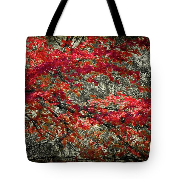Gum Fall Tote Bag by Lana Trussell