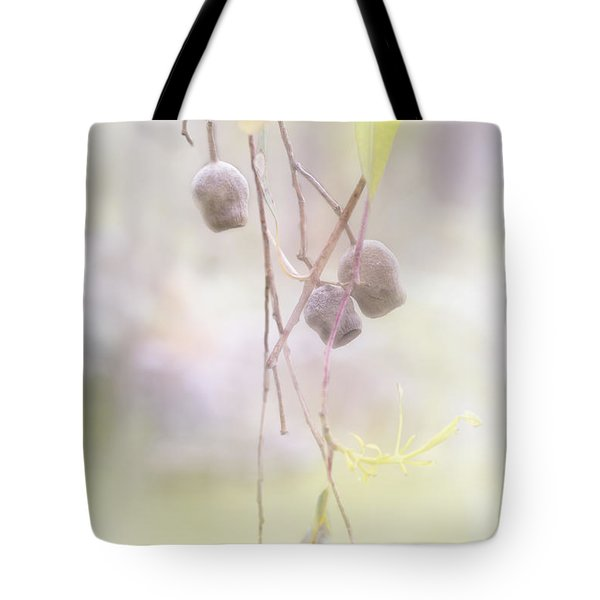 Tote Bag featuring the photograph Gum Nuts by Elaine Teague