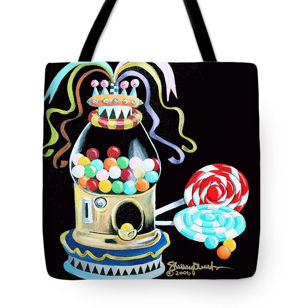 Gumball Machine And The Lollipops Tote Bag