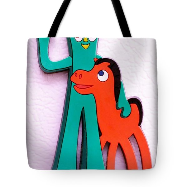 Gumby And Pokey B F F Tote Bag