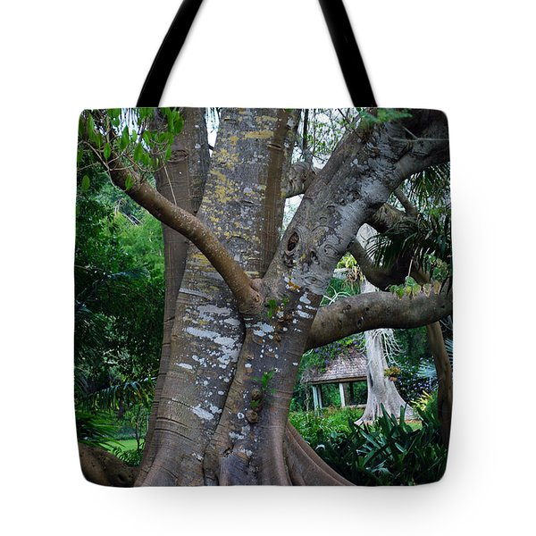 Gumby Tree Tote Bag