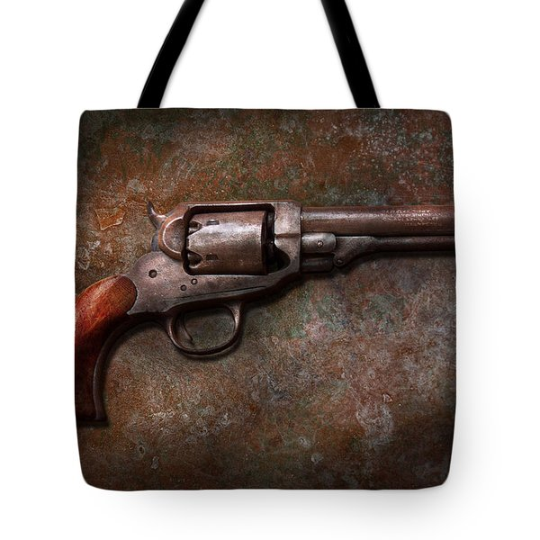 Gun - Police - Dance For Me Tote Bag by Mike Savad