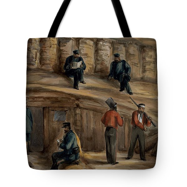 Gunners Of The Royal Regiment Tote Bag