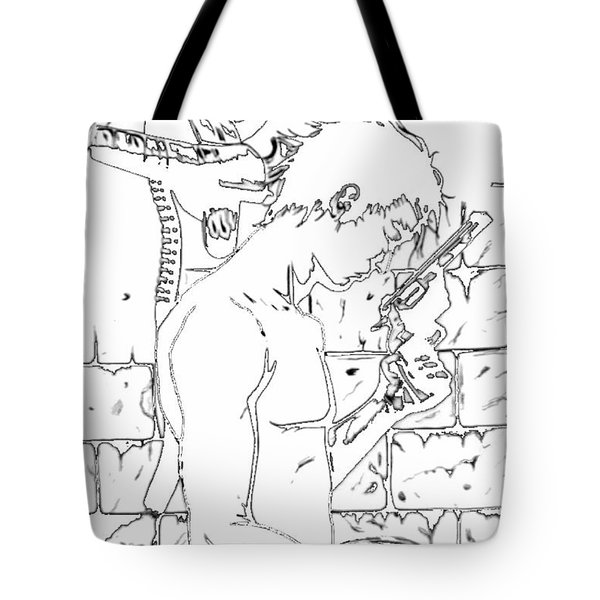 Gunslinger Born Iced Edition Tote Bag