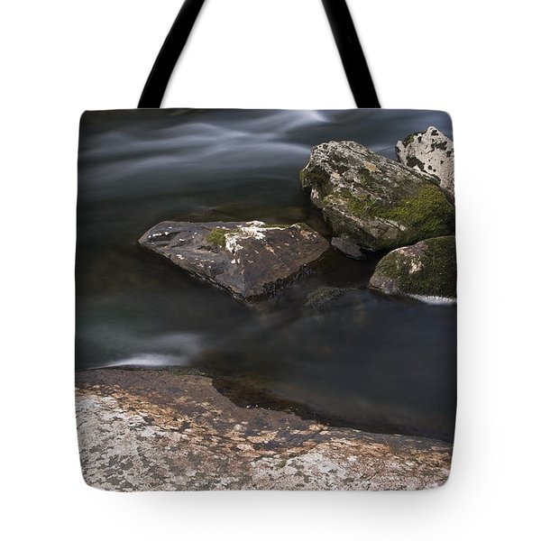 Tote Bag featuring the photograph Gurggling Creek by Andy Crawford