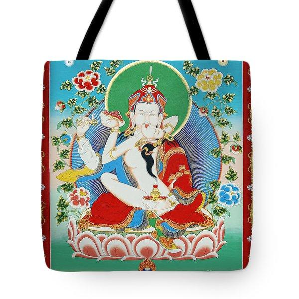 Guru Rinpoche Yab Yum Tote Bag