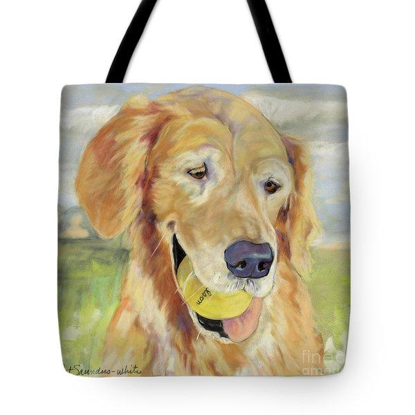 Gus Tote Bag by Pat Saunders-White