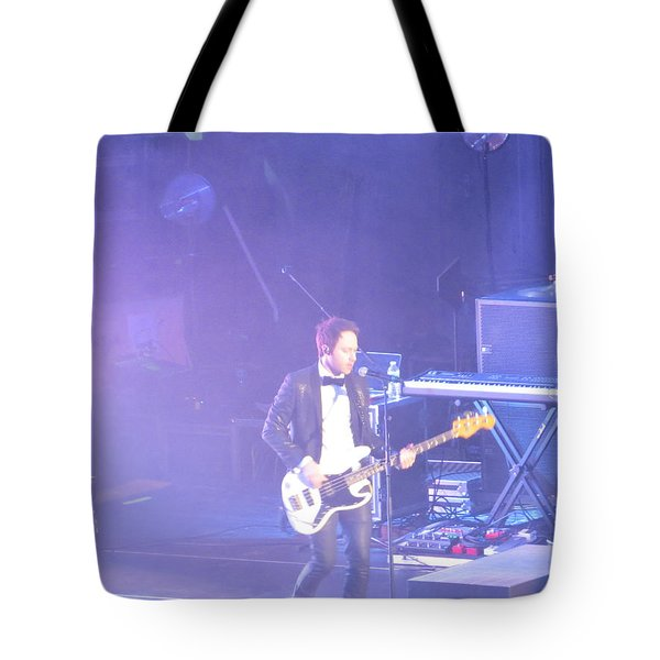 Tote Bag featuring the photograph Gutair Player For Royal Taylor by Aaron Martens