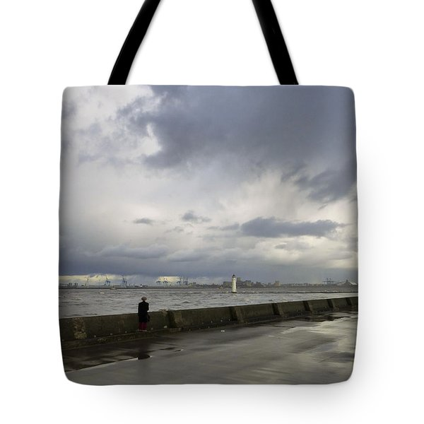 Guy In The Red Trousers Tote Bag by Spikey Mouse Photography