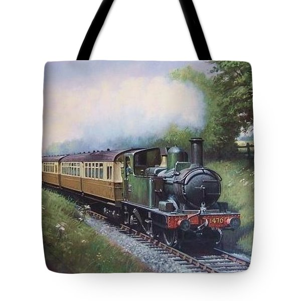Gwr 0.4.2t Engine. Tote Bag