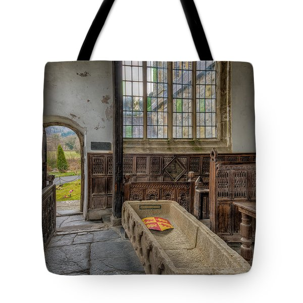 Gwydir Chapel Tote Bag by Adrian Evans