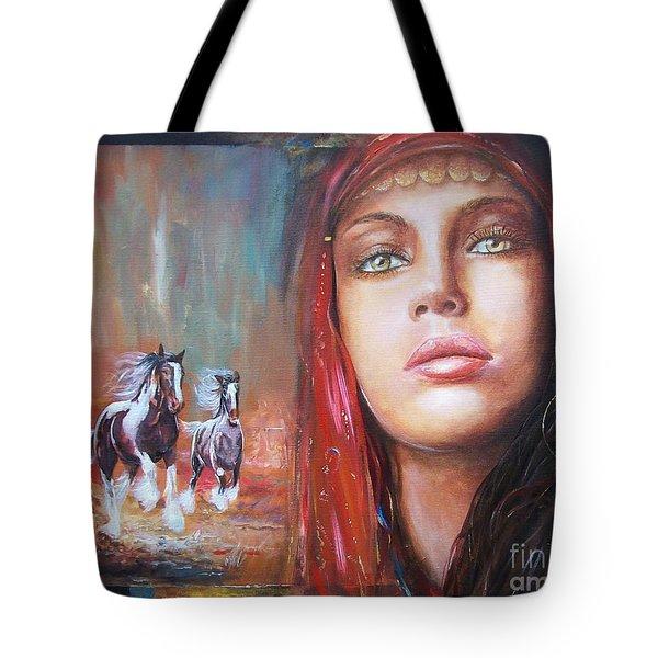 Gypsy Beauty Tote Bag