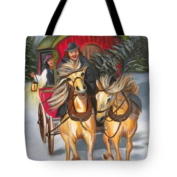 Gypsy Christmas Tote Bag