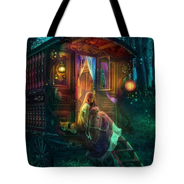 Gypsy Firefly Tote Bag by Aimee Stewart