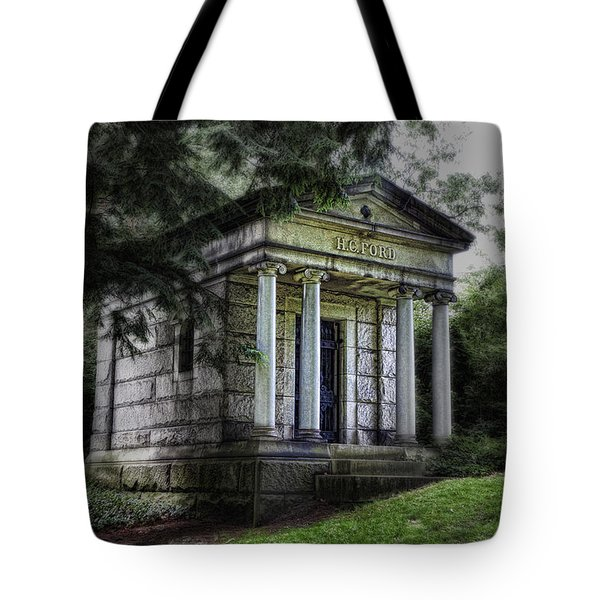 H C Ford Mausoleum Tote Bag