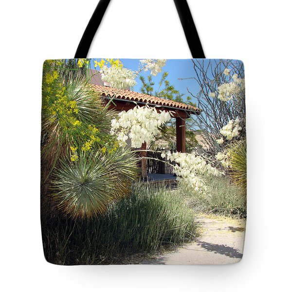 Tote Bag featuring the photograph Hacienda by Linda Cox