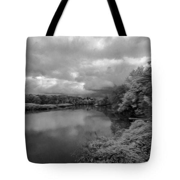 Hackensack River Tote Bag