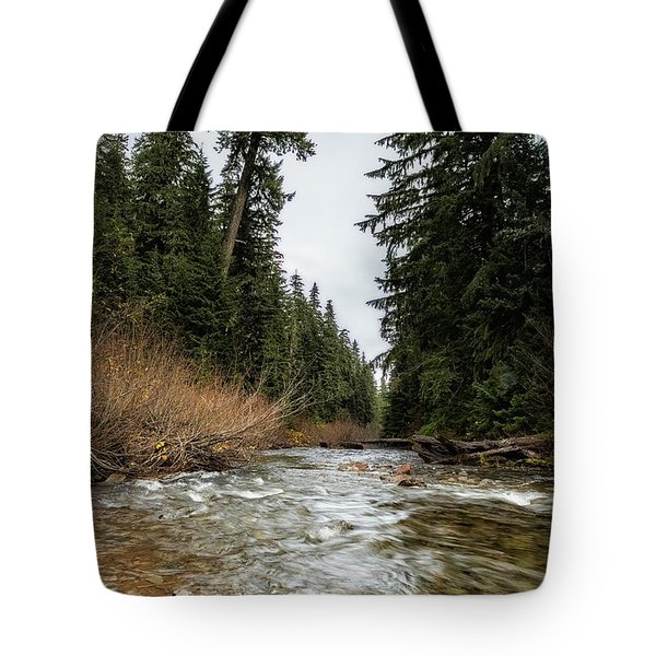 Hackleman Creek  Tote Bag
