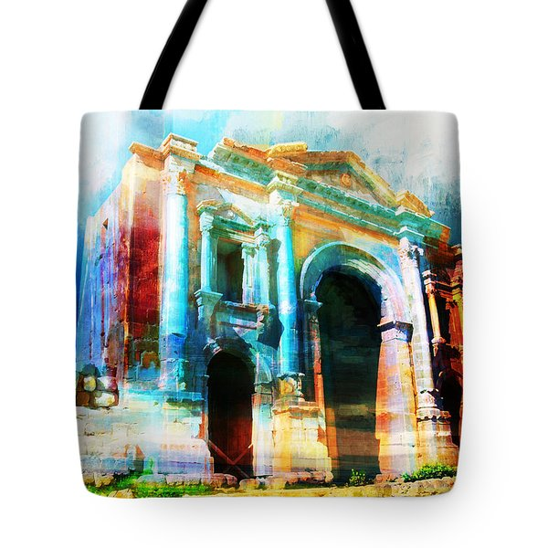 Hadrians Arch Tote Bag by Catf