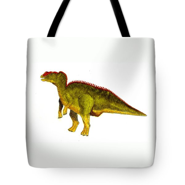 Hadrosaurus Tote Bag by Michael Vigliotti