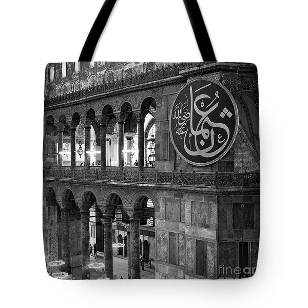 Hagia Sophia Interior 03 Tote Bag