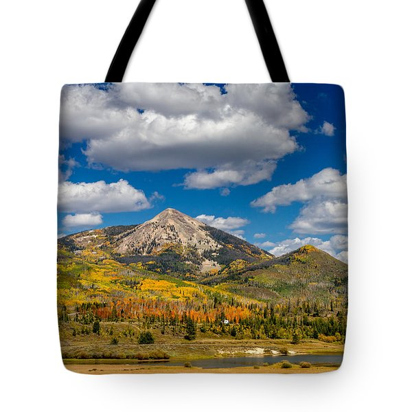 Hahn Peak And Steamboat Lake State Park Tote Bag